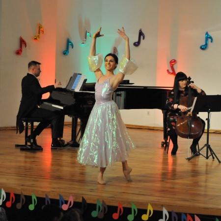 14.03.2021 Miś Doremiś zaprasza na koncert z tańcem klasycznym