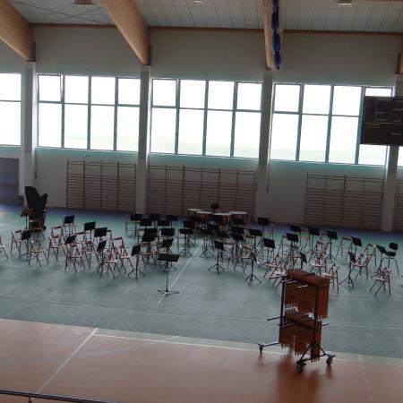 Symulacja estrady sali koncertowej na etapie tworzenia projektu budowlanego_1