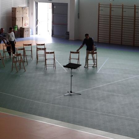 Symulacja estrady sali koncertowej na etapie tworzenia projektu budowlanego_3