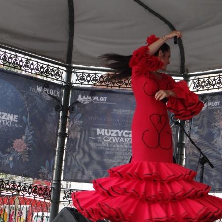 23.07.2020 Muzyczne Czwartki na płockiej starówce - Flamenco Trio