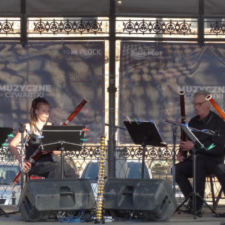 30.07.2020 Muzyczne czwartki na płockiej starówce - Kwartet fagotowy