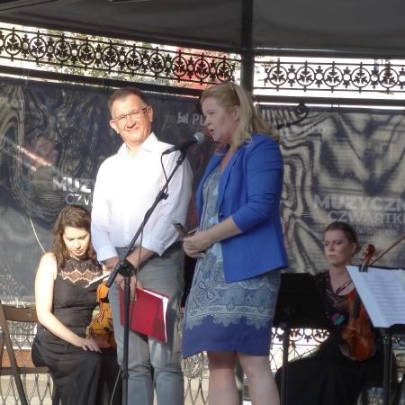 6.08.2020 Muzyczne Czwartki na płockiej starówce - Film Music Quarte